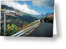 La Palma - Barranco De Las Angustias Greeting Card