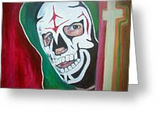 La Parka Greeting Card