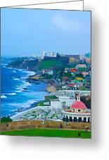 La Perla In Old San Juan Greeting Card