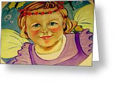 La Petite Fee   The Little Fairy Greeting Card