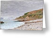 La Pointe De La Heve Greeting Card