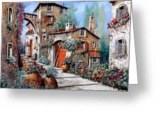 La Porta Rossa Greeting Card