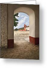 La Purisima Arch Greeting Card