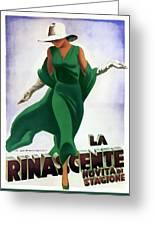 La Rinascente Novita Di Stagioni 1931 Greeting Card