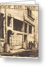 La Rue Des Mauvais Gar?ons, Paris (the Street Of The Bad Boys) Greeting Card