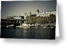 La Seine I Greeting Card