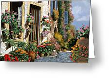 La Strada Del Lago Greeting Card