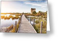 La Tour Carbonniere - Camargue - France Greeting Card