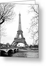 La Tour Eiffel, Paris Greeting Card