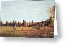 La Varenne De St. Hilaire Greeting Card