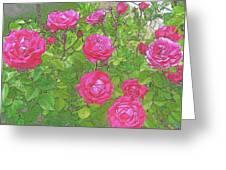 La Vie En Roses Greeting Card by Jen White