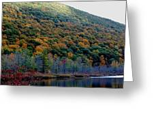 Labrador Pond Hillside Greeting Card
