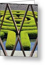 Labyrinth At The Getty Greeting Card