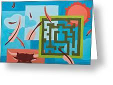 Labyrinth Day Greeting Card