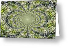 Lacey Kaleidoscope Greeting Card