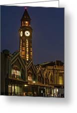 Lackawanna Clock Tower Greeting Card