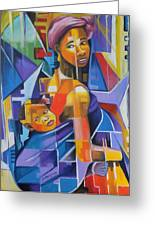 Pride Of African Woman Greeting Card