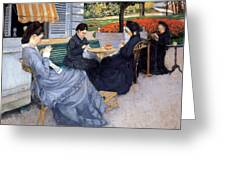 Ladies Sewing Greeting Card