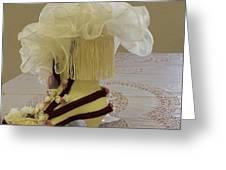 Ladies Tea Iv Greeting Card