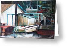 Ladner Harbour Greeting Card