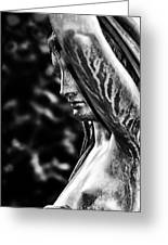 Lady In The Garden 1 Greeting Card
