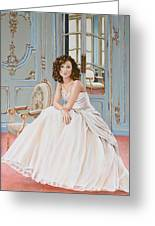 Lady In Waiting Greeting Card