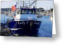 Lady J Greeting Card