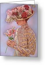 Lady Jessica Greeting Card by Sue Halstenberg