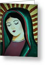 Lady Of Guadalupe Greeting Card