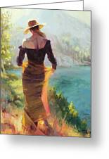 Lady Of The Lake Greeting Card