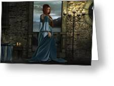 Lady Of The North Greeting Card