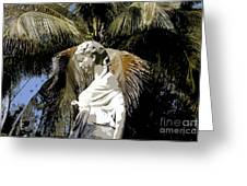 Lady Of The Palms Greeting Card