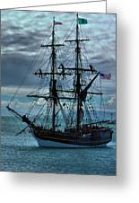 Lady Washington-3 Greeting Card