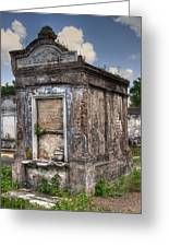 Lafayette Crypt 2 Greeting Card