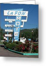 Lafon Motel Greeting Card