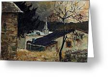 Laforet Ardennes Village  Greeting Card