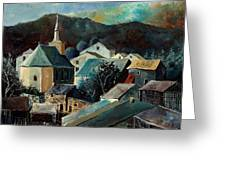 Laforet Village  Greeting Card