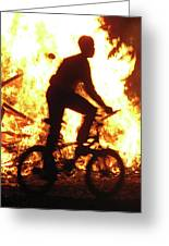 Lag Ba-omer The Bonfire Holiday Greeting Card