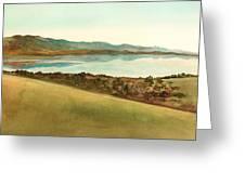 Lago Del Coghinas Greeting Card