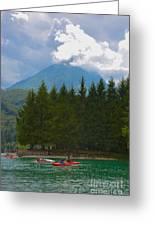 Lago Di Barcis Greeting Card