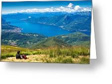 Lago Maggiore Italy Switzerland Greeting Card
