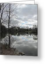 Lagoon Reflections 2 Greeting Card