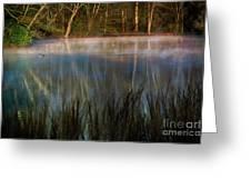 Lagoon Sunrise Greeting Card