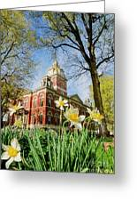 Lagrange County Courthouse Greeting Card