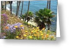 Laguna Beach, Southern California 12 Greeting Card