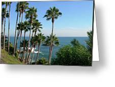 Laguna Beach, Southern California 2 Greeting Card
