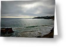 Laguna Beach Sunset Greeting Card