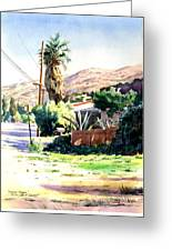 Laguna Canyon Palm Greeting Card