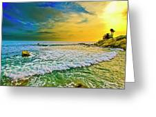 Laguna Tides Greeting Card