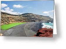 Laguna Verde Greeting Card